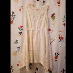 Xhilaration girls crochet dress size 7-8